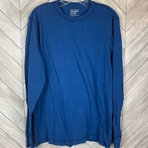 Long sleeve men's soft T-shirt